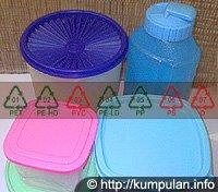 Cermati Plastik yang Anda Pakai