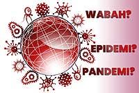 Beda Wabah, Epidemi, dan Pandemi
